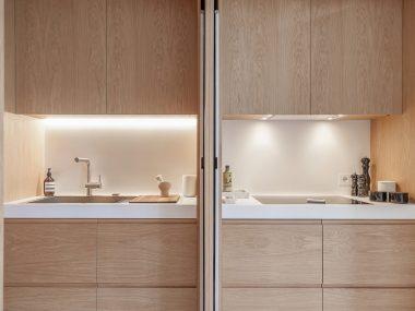 Due esempi di cucine su misura