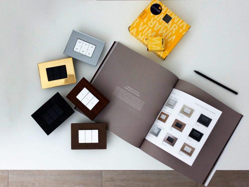 Il design di lusso delle placche Vimar Eikon Exè