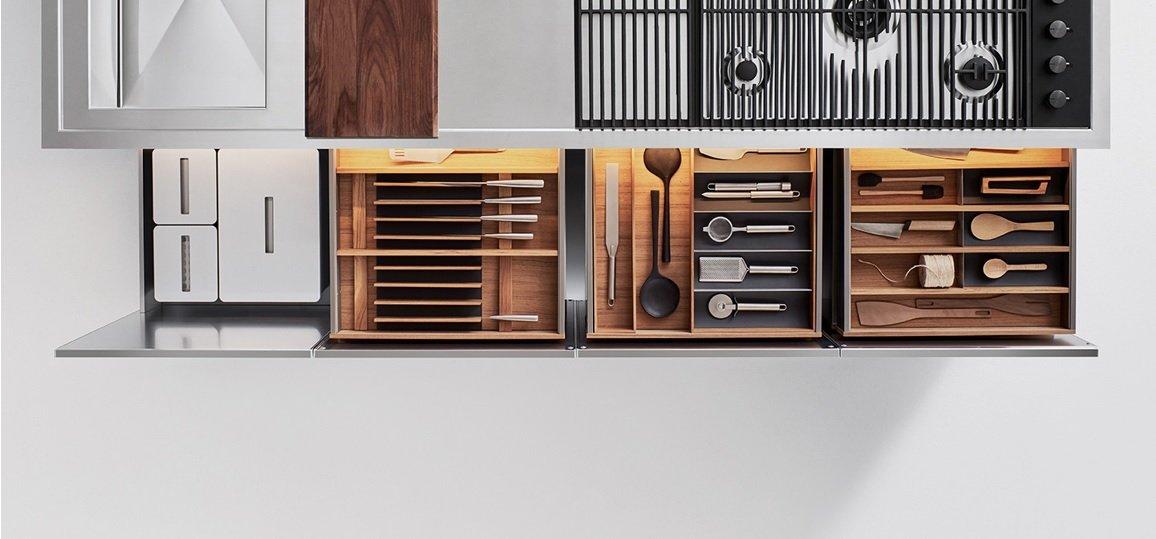 5 consigli per organizzare i cassetti in cucina