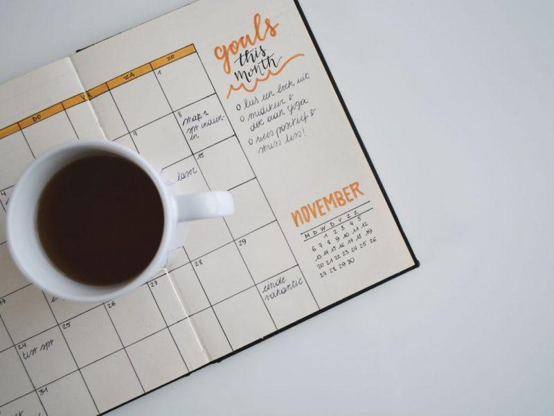Organizzare agenda cartacea