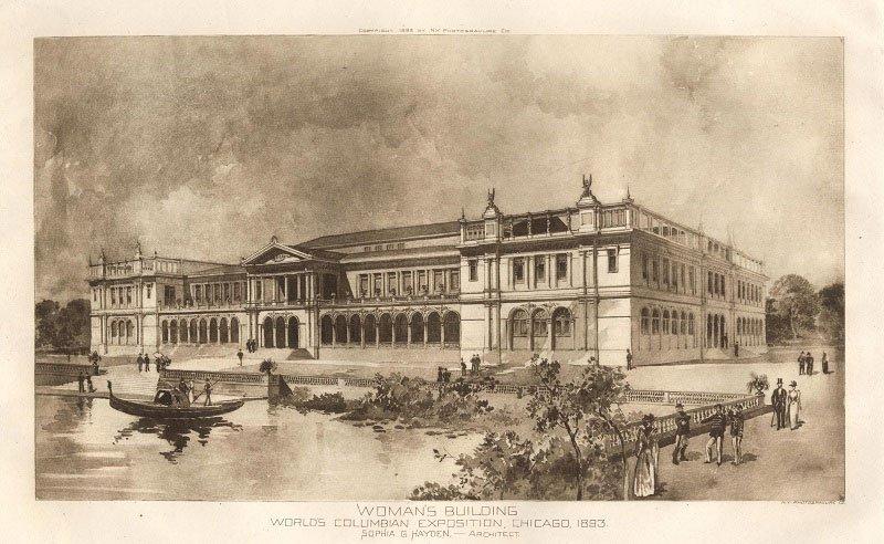 Architetta | Sophia Hayden Bennett, la prima architetta americana