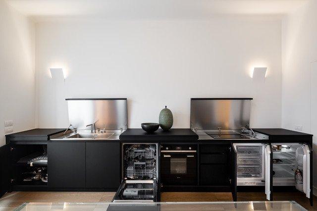 cucina a scomparsa 23 bassi