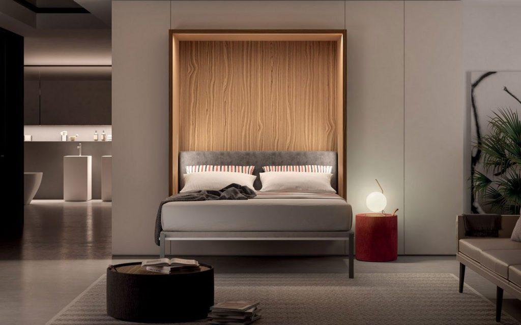 Letti a scomparsa, con contenitore, sospesi e divani letto: guida alla scelta di un letto moderno