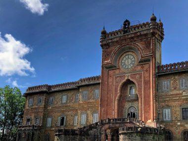 Castello di sammezzano facciata principale in esclusiva foto rara per Architempore